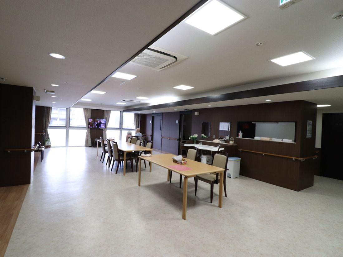 食堂、共有スペース
