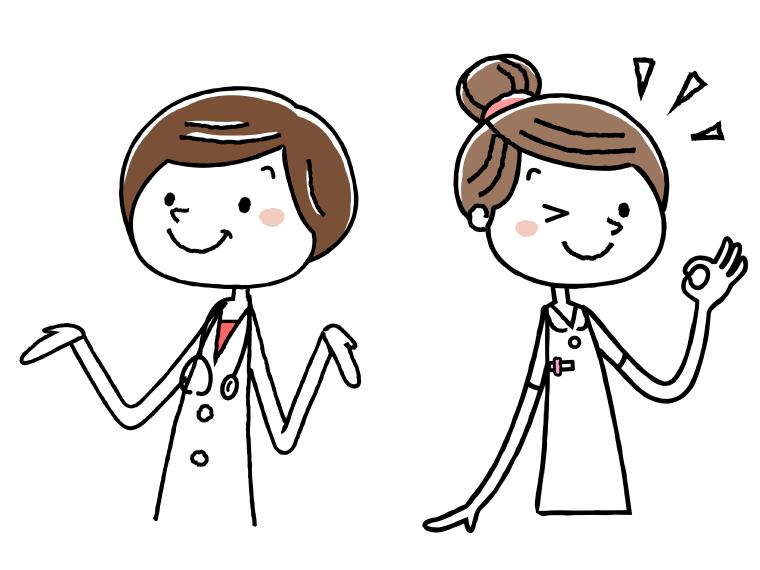 看護師のイメージイラスト