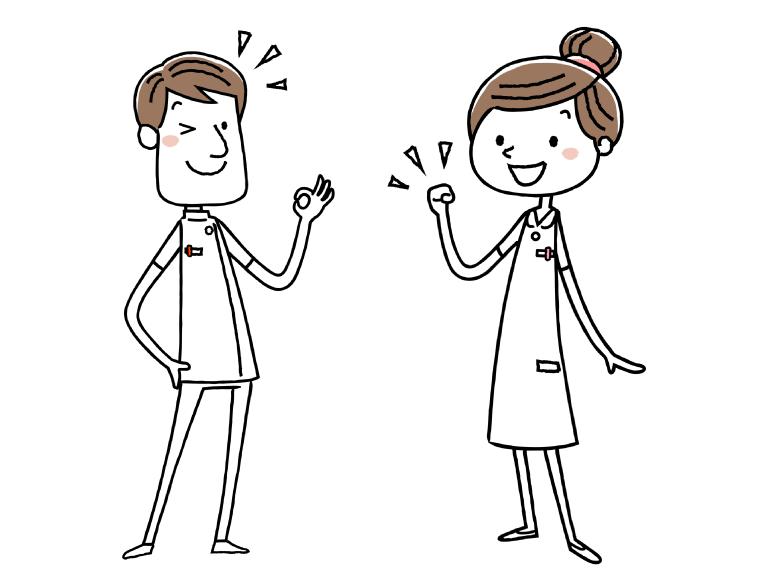 介護福祉士のイメージイラスト