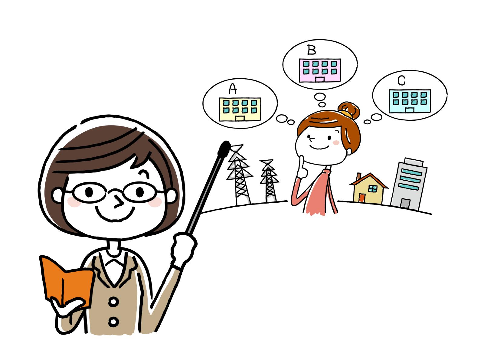 将来的に介護福祉士へキャリアアップを目指せるイメージイラスト