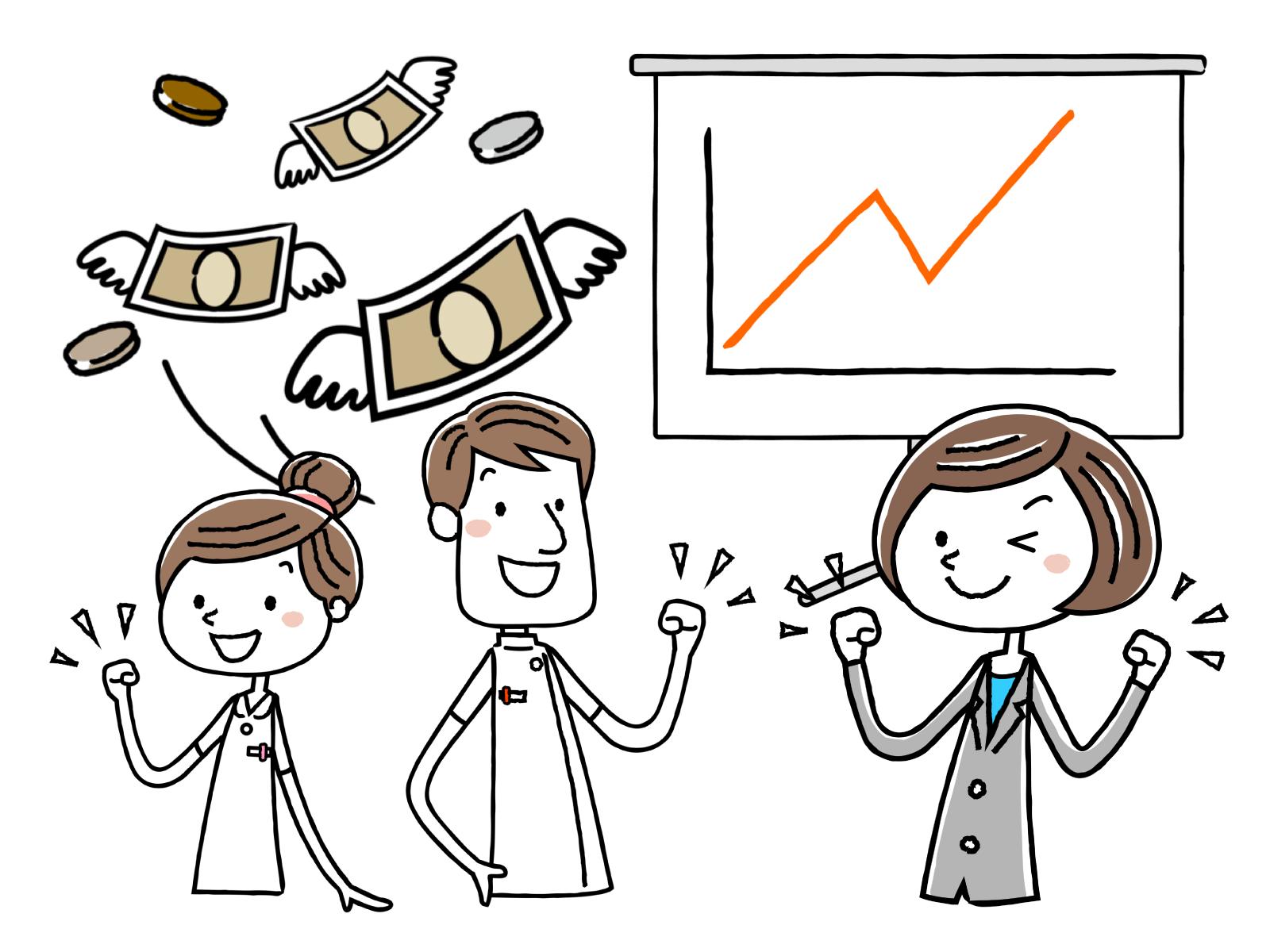 研修修了者がさらに給料を上げるための方法についてのイメージイラスト