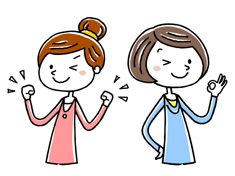 生活相談員と介護福祉士の給与比較のイメージイラスト