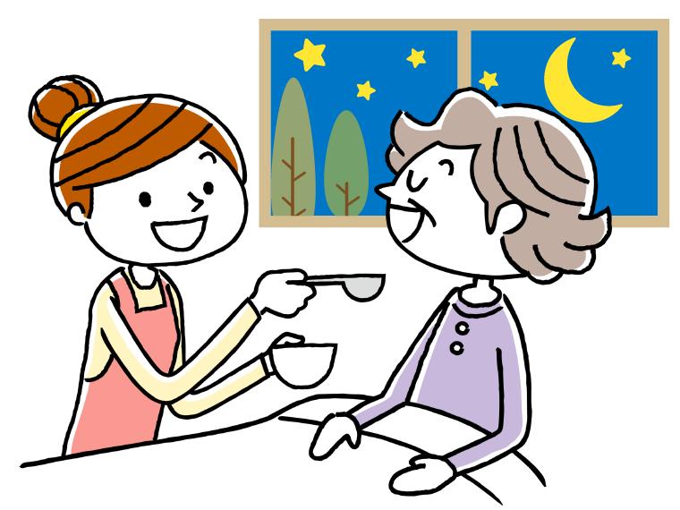 短期入所生活介護(一般型ショートステイ)のイメージイラスト