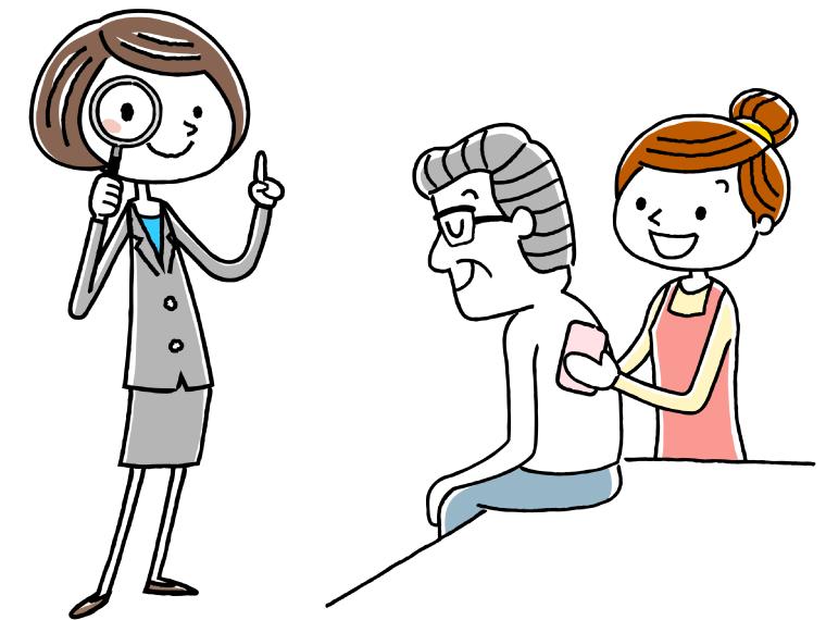 介護職員と兼務の場合は正社員で雇用されるのイメージイラスト