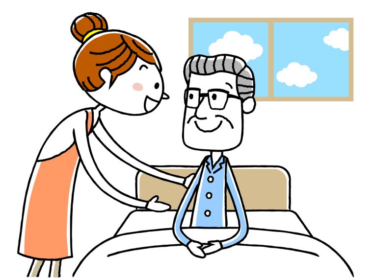 訪問介護員研修(ホームヘルパー)1級についてのイメージイラスト