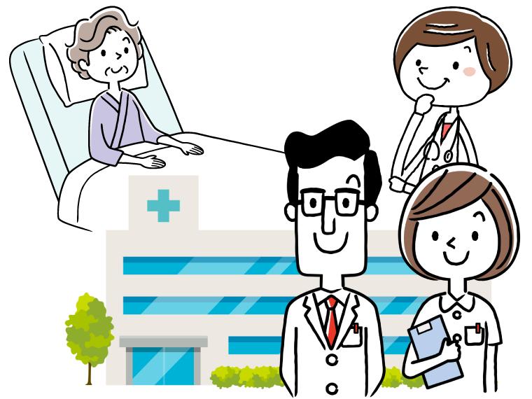 保健師の給料のイメージイラスト