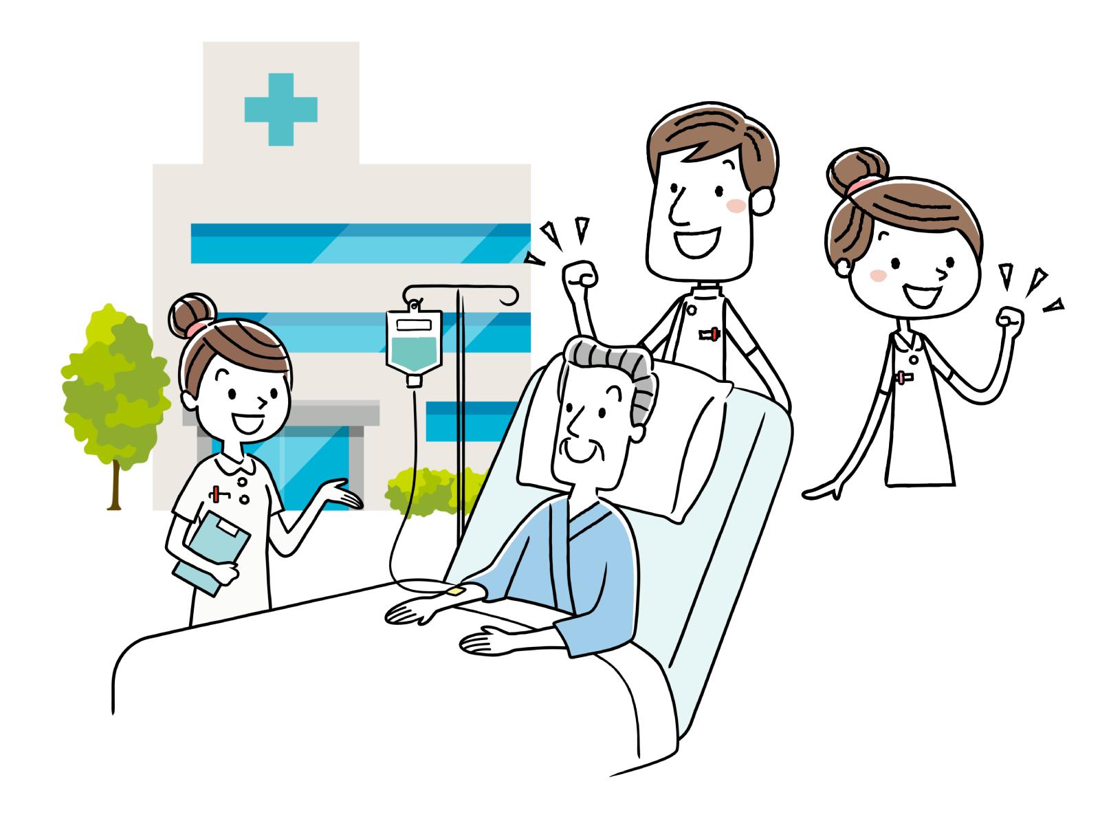 准看護師の受験資格、合格率、仕事内容のイメージイラスト