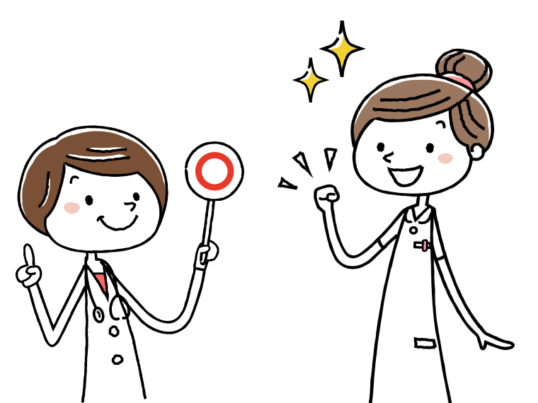 管理職にキャリアアップする作業療法士のイメージイラスト