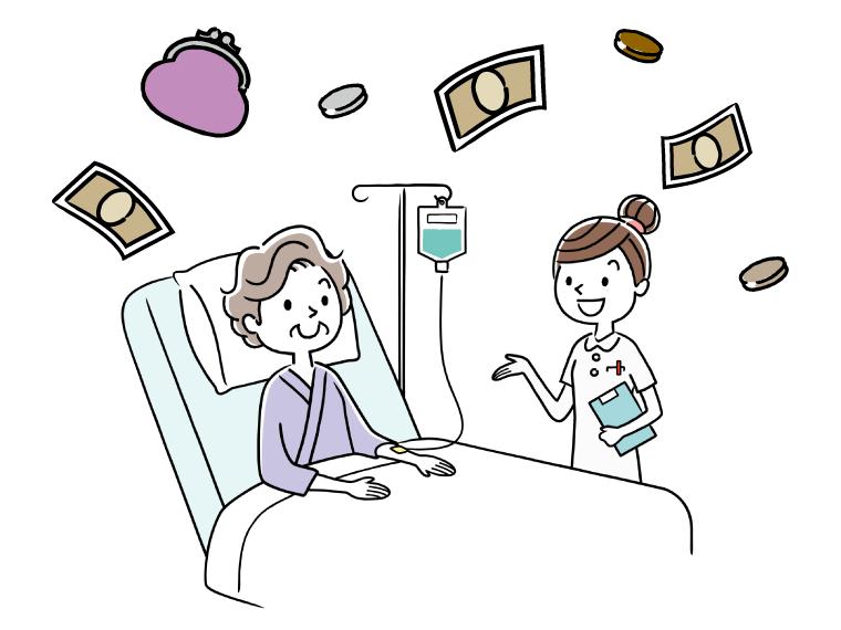 准看護師の給料のイメージイラスト