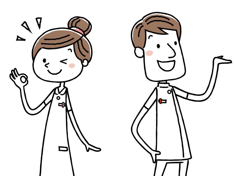 柔道整復師の給料のイメージイラスト