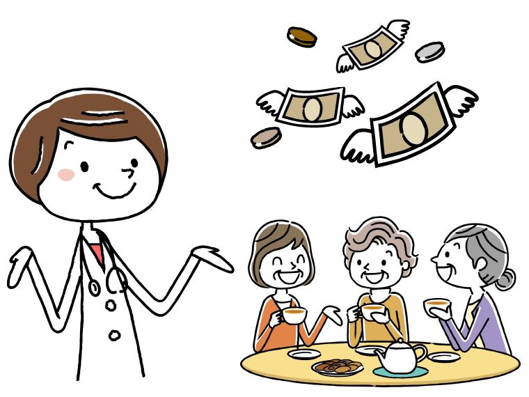 栄養士の給料のイメージイラスト